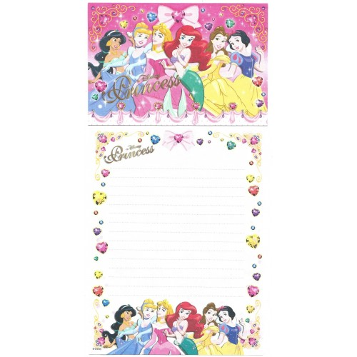 Conjunto de Papel de Carta Disney Princess Kamio Japan