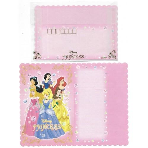 Conjunto de Papel de Carta Disney Princess TR Japan