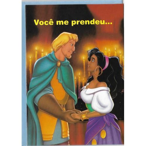 Cartão Disney M O Corcunda de Notre Dame 01 BEST CARDS