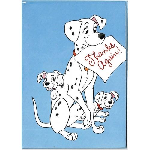 Notecard Importado 101 Dalmatians 3P Gibson