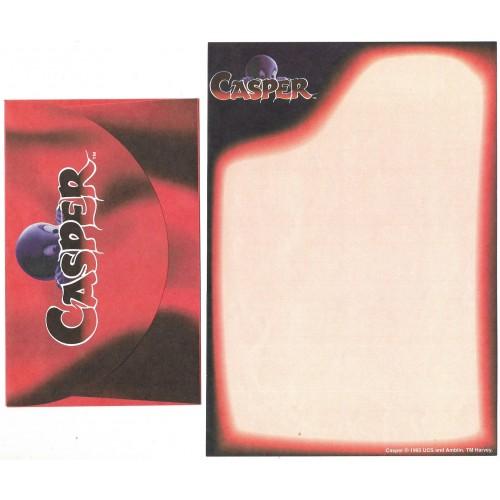 Ano 1995. Conjunto de Papel de Carta IMPORTADO CASPER Gasparzinho CVM