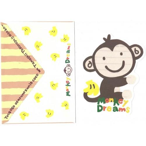 Conjunto de Papel de Carta Importado Alpha Point Monkey Dreams DC