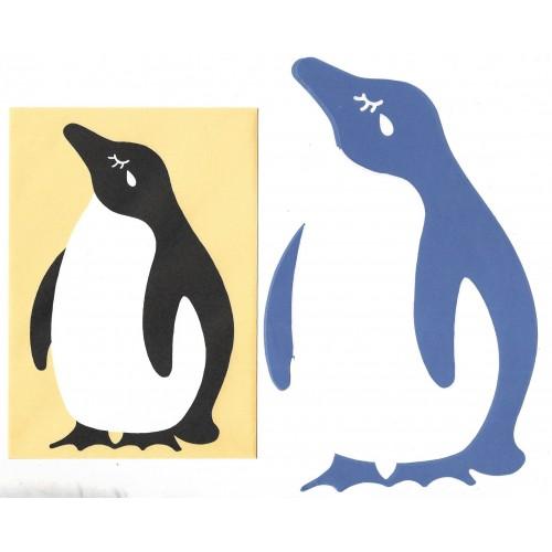 Conjunto de Papel de Carta Importado Penguin CAM DC