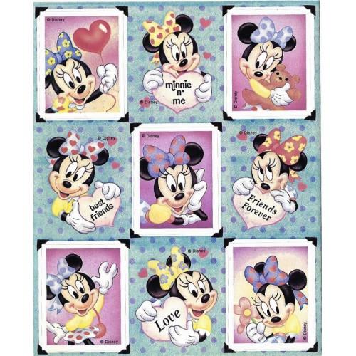 Cartela de ADESIVOS Mickey & Friends Gibson EUA