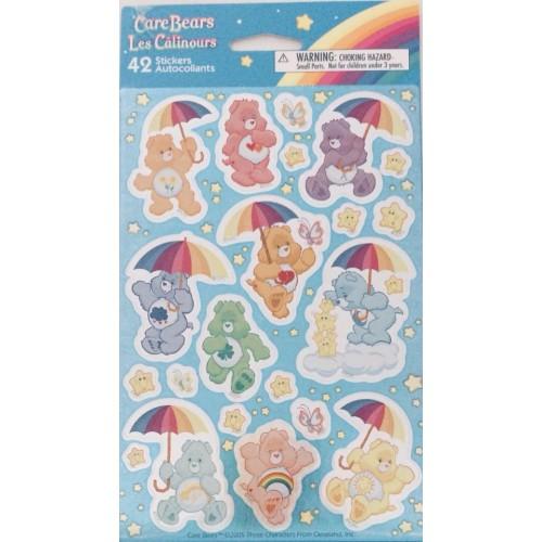 Kit de ADESIVOS Care Bears Ursinhos Carinhosos American Greetings