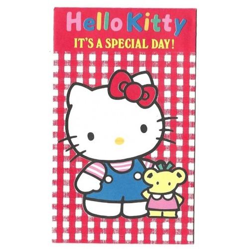 Ano 1989. Mini-Envelope Hello Kitty Sanrio CXD