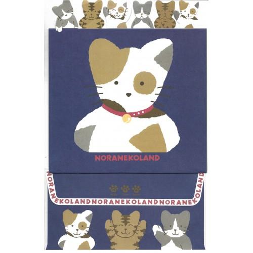 Ano 1992. Coleção de Papel de Carta NORANEKOLAND Vintage Sanrio