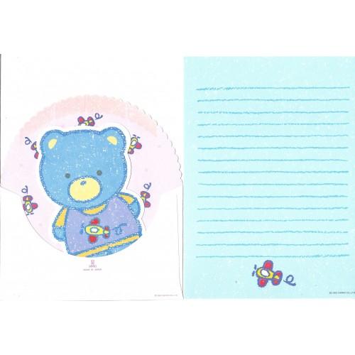 Ano 1983. Conjunto de Papel de Carta Cheery Chums Bear Vintage Sanrio