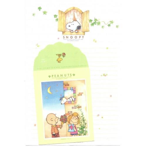Conjunto de Papel de Carta Snoopy Window Peanuts Sindicate