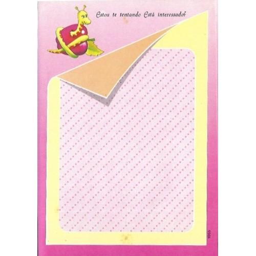1055. Papel de Carta Coleção Cristina Baby Zoo