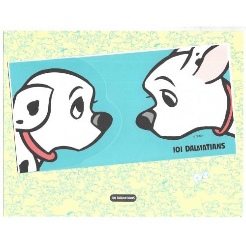 Conjunto de Papel de Carta VINTAGE Disney 101 Dalmatians CTU JAPAN