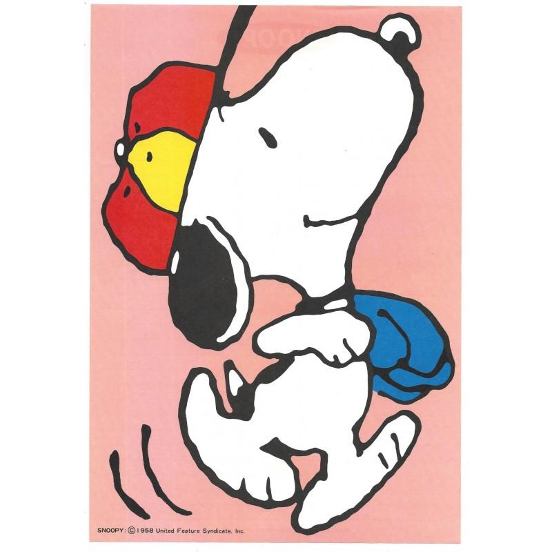Conjunto de Papel de Carta Snoopy SPORTS Hallmark Japan