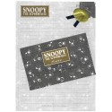 Conjunto de Papel de Carta Snoopy PS SILVER Vintage Hallmark Japan