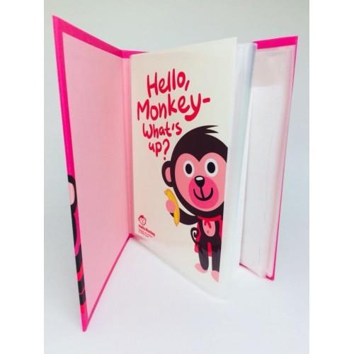 Álbum de Fotos A6 40 Plásticos Hello Monkey PAPIER KR
