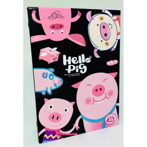 Álbum de Fotis A6 40 Plásticos Hello Pig PAPIER KR