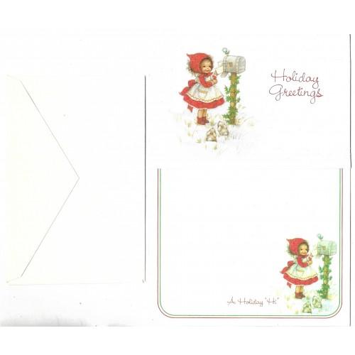 Conjunto de Papel de Carta & NOTECARD Barbi Sargent Plus Mark