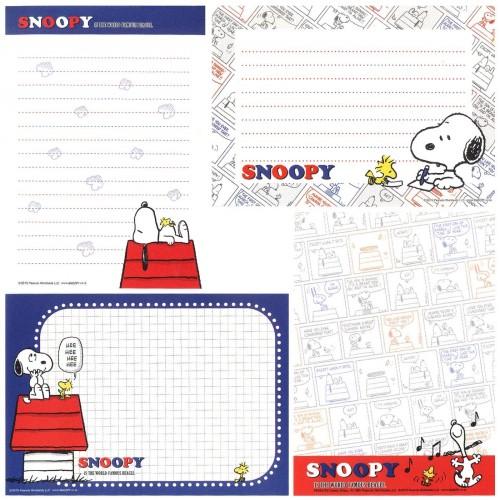 Ano 2015. Kit 4 Notas SNOOPY You like Hockey