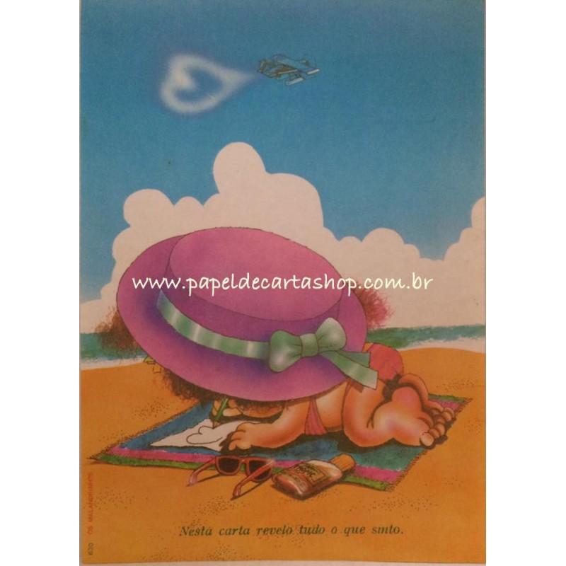 Papel de Carta ANTIGO Malandrinhos 630