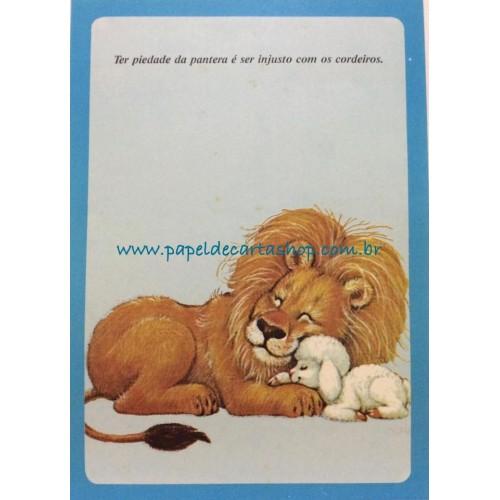 Papel de Carta Antigo Coleção BORDA AZUL 018