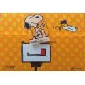 Postalete ANTIGO COM SELINHO PARA COLAR Snoopy CAM