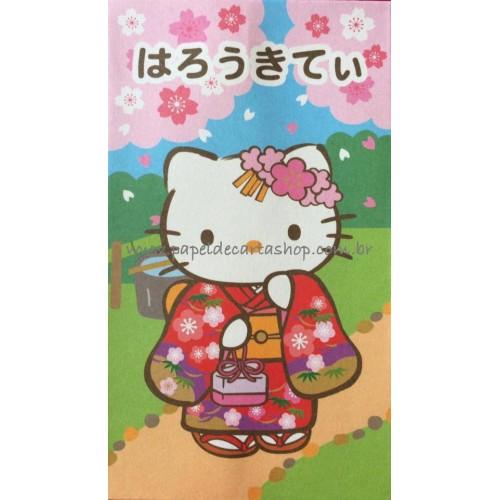 Ano 2007. Mini-Envelope GOTŌCHI Kitty