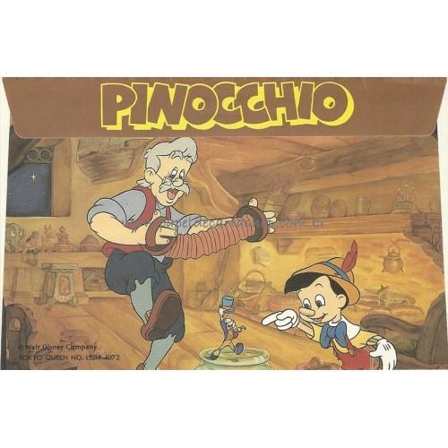 Envelope AVULSO Pinocchio Disney
