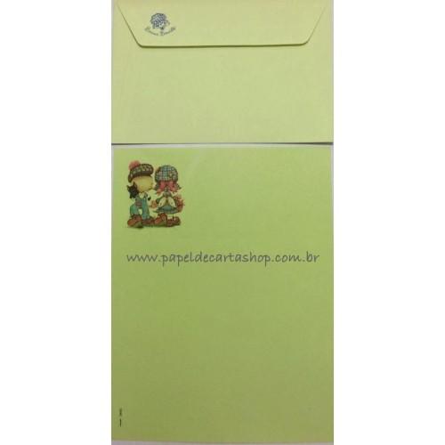 Conjunto de Papel de Carta Antigo Bonnie Bonnets MVD