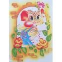 Papel de Carta Antigo Belas Artes Médio 018