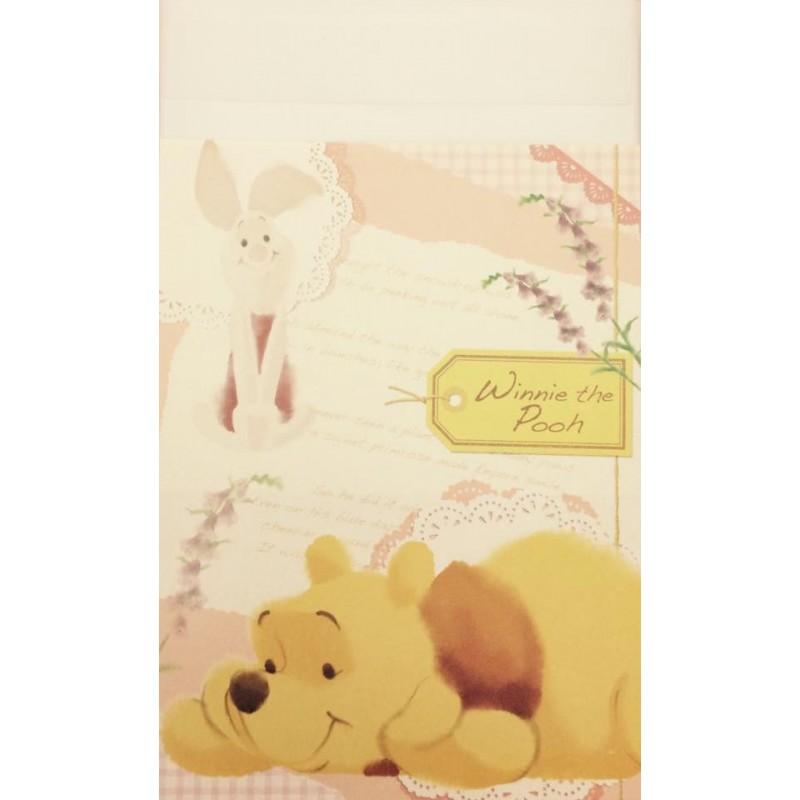 Conjunto de Papel de Carta Disney Pooh1
