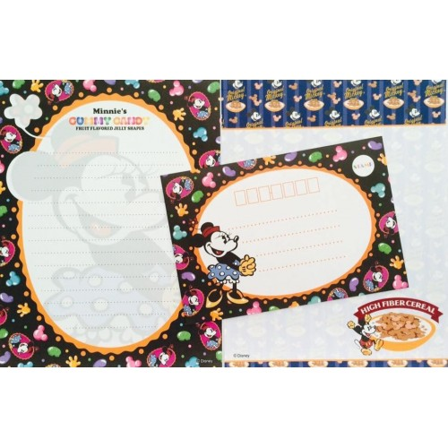 Conjunto de Papel de Carta Disney Minnie Mouse Candy