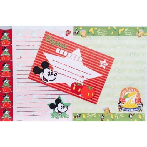 Conjunto de Papel de Carta Disney Mickey Mouse Organic