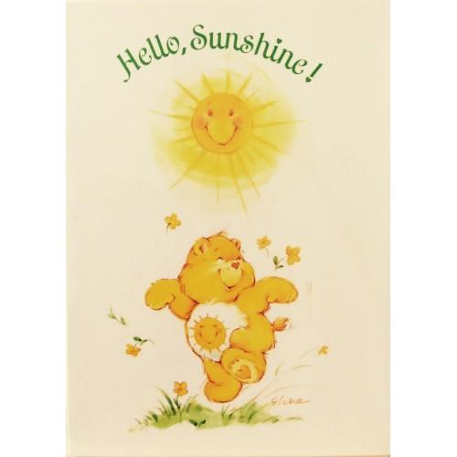 Cartão ANTIGO COM ENVELOPE Ursinhos Carinhosos P1
