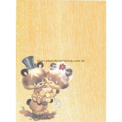 Papel de Carta CARTIUGE Médio 0123