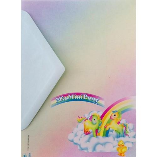 Conjunto de Papel de Carta IMPORTADO Mio Mini Pony 01