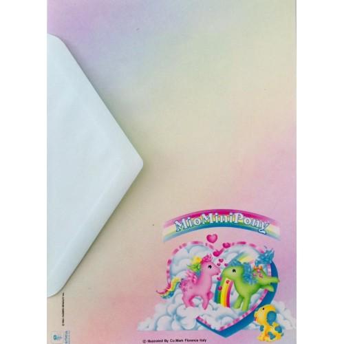 Conjunto de Papel de Carta IMPORTADO Mio Mini Pony 02