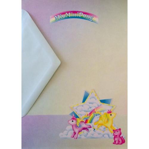 Conjunto de Papel de Carta IMPORTADO Mio Mini Pony 03
