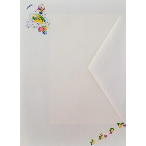 Conjunto de Papel de Carta IMPORTADO Mio Mini Pony 06
