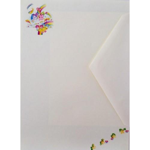 Conjunto de Papel de Carta IMPORTADO Mio Mini Pony 07