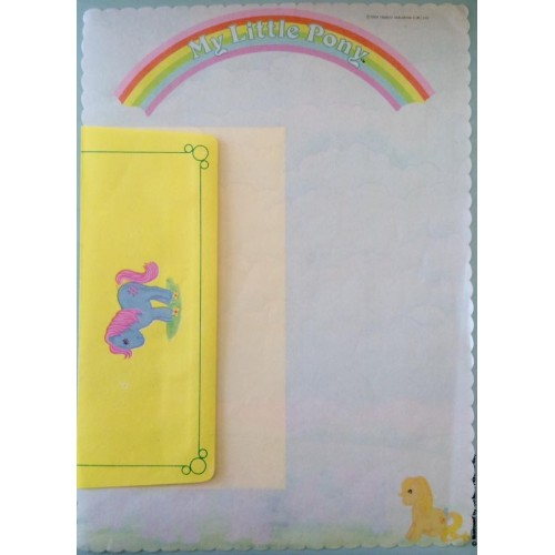 Conjunto de Papel de Carta IMPORTADO My Little Pony (AZ)