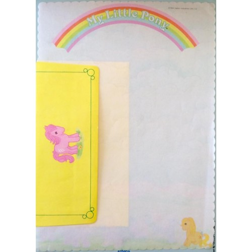 Conjunto de Papel de Carta IMPORTADO My Little Pony (RS)