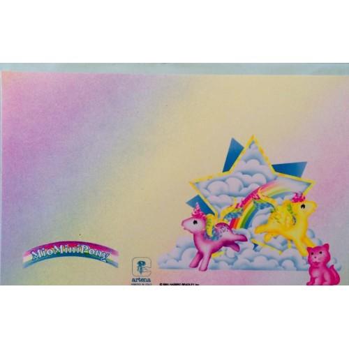 Cartão Postal IMPORTADO Mio Mini Pony 01