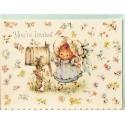 Cartão Antigo Importado Mary Hamilton - Hallmark