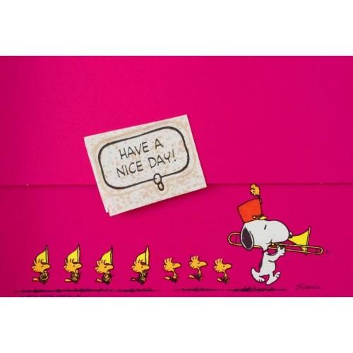Postalete ANTIGO COM SELINHO PARA COLAR Snoopy (CPK)