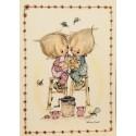 Cartão Postal ANTIGO Betsey Clark - P1