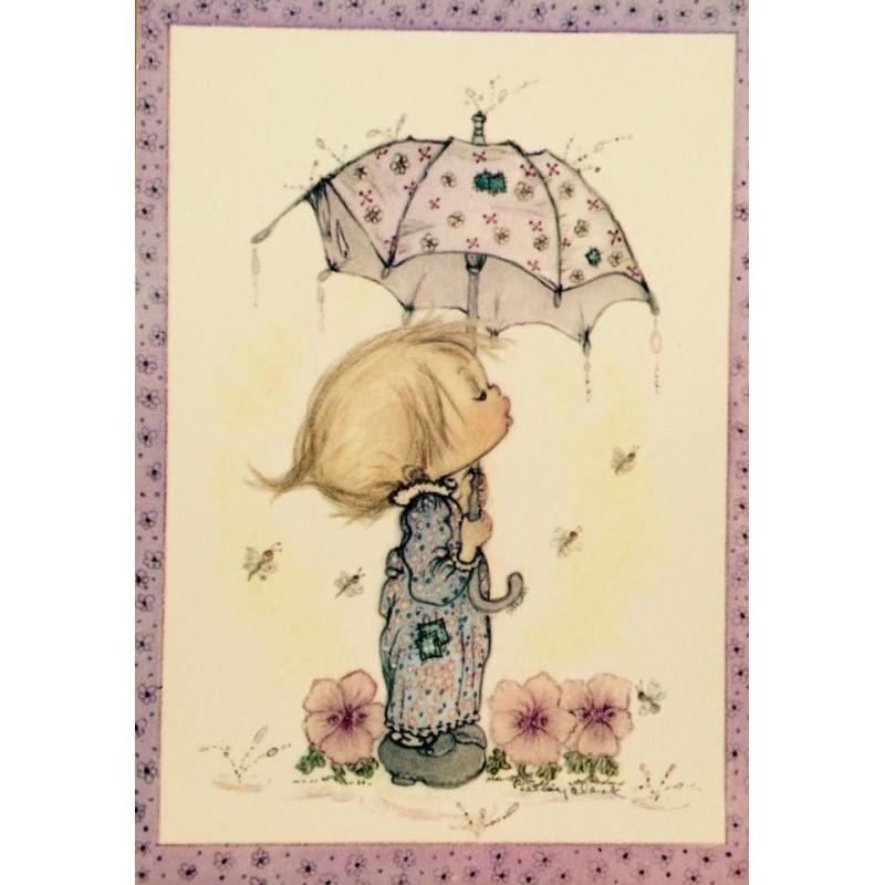 Cartão Postal ANTIGO Betsey Clark - P4