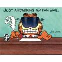 Postalete Garfield Com Selinho para Colar - Paws